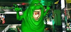 Creating Slimer for Ghostbusters