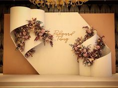 Wedding Backdrop Design, Wedding Hall Decorations, Wedding Stage Design, Wedding Reception Backdrop, Engagement Decorations, Backdrop Decorations, Wedding Designs, Wedding Photo Walls, Photowall Ideas