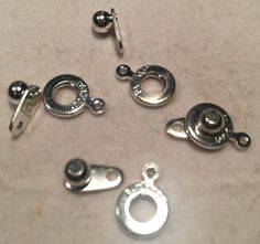 Etsy listing at https://www.etsy.com/listing/246938628/ball-and-socket-clasp-8mm-silver-plated