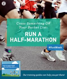 1/2 marathon training