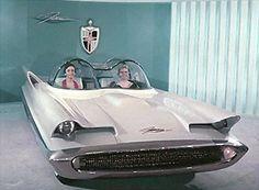 1955 Lincoln Futura GHIA by Luigi Segre - This car was the basis for original Batmobile