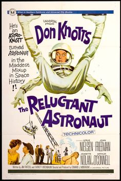 The Reluctant Astronaut posters for sale online. Buy The Reluctant Astronaut movie posters from Movie Poster Shop. We're your movie poster source for new releases and vintage movie posters. Disney Movie Posters, Old Movie Posters, Classic Movie Posters, Minimal Movie Posters, Movie Poster Art, Classic Movies, Disney Movies, Minimal Poster, 1960s Movies