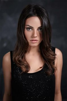 Mila Kunis Mila... a fine portrait photo for Genlux Magazine ( October 2008 ) shared to groups 8/11/17