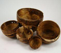 Eucalyptus Burl Bowls