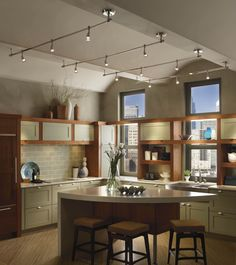 Killer Kitchen Track Lighting Ideas : Progress Lighting    Ways To Beautifully…