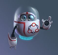 Robot Cartoon Character #robot