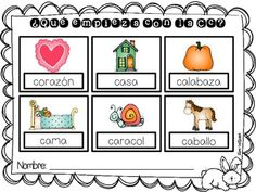 Dibuja y escribe {Draw and Label. Activities in Spanish}