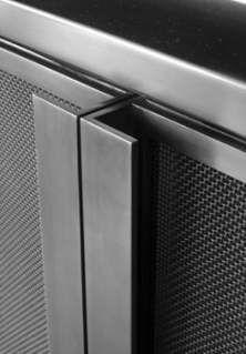 hot-rolled steel perforated cabinet doors Garage, ideas, man… – Wine World Steel Furniture, Industrial Furniture, Industrial Design, Industrial Frames, Crate Furniture, Grey Furniture, Classic Furniture, Antique Furniture, Bedroom Furniture