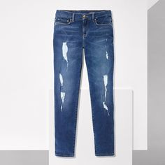 We borrowed the relaxed fit from him then gave them… Tommy Hilfiger Jeans, Tommy Hilfiger Women, Ripped Jeans, Skinny Jeans, Boyfriend Fit Jeans, Distressed Jeans, Denim, Stylish, Fashion Design