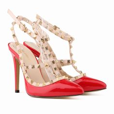 Aliexpress.com : Buy New Summer Elegant British Style 2015 Women Rivet OL High Heels Shoes Thin High Heels Pointed Toe Rome based Woman Sandals 302 5 from Reliable Women's Pumps suppliers on Ms. elegant boutiques | Alibaba Group