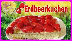 Erdbeer-Pudding Kuchen vom Blech - Rezept von Anna Kocht Russisch Cheesecake, Anna, Food, Youtube, Bakken, Cake Batter, Strawberries, Cheesecakes, Essen