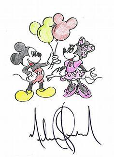 Mickey & Mimi by #MichaelJackson