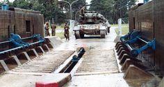 PRTL in Duitsland door de tank-wasstraat