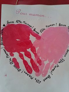 fête des parents chez Myriam:tribune libre - école petite section Happy Birthday Mom, Diy Birthday, Cadeau Parents, Father's Day Activities, Mother's Day Diy, Saint Valentine, Mothers Day Crafts, Kids Prints, Mother And Father