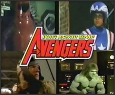 What would The Avengers look like 35 years ago?