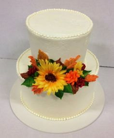 Wuollet cake, sunflower