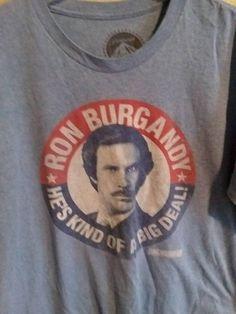Ron Bourgogne big deal Anchorman Inspiré T-Shirt Enfants