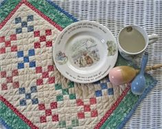 Persnickety Quilts: nine patch quilt