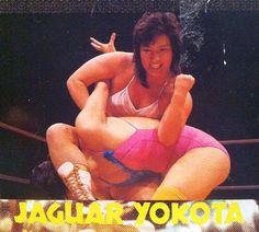 Japanese female wrestler and wrestling trainer Rimi Yokota is better known to her fans in Japan (and around the world) as Jaguar Yokota. http://hubpages.com/sports/Japanese-Women-Wrestling