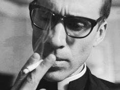 Joseph Fiennes as Monsignor Timothy Howard from American Horror Story Asylum. (Photo via Tumblr.)
