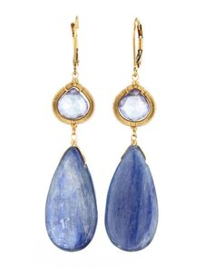 Dana Kellin - Celestial Mix Teardrop Earrings