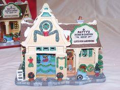 Lemax Patty's Home & Garden Shop 2013 #35533 Snow Village Christmas NIB