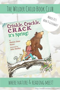 The Wilder Child Book Club, where nature and reading meet! See this month's featured book and giveaway.