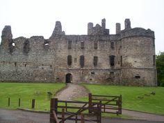 Balvenie Castle near Dufftown