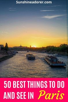 50 Amazing Things to Do and See in Paris - Sunshine Adorer