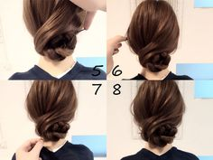Pin on ヘアアレンジ Work Hairstyles, Bride Hairstyles, Hair Arrange, Corte Y Color, Hair Setting, Japanese Hairstyle, Yukata, Hair Dos, Hair Designs