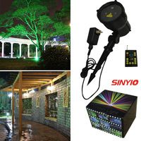 Moving IP65 Red&Green outdoor garden landscape Christmas laser holiday lighting RF remote projector Christmas Festival  lighting