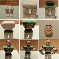 how to make buzz lightyear out of fondant - Google Search