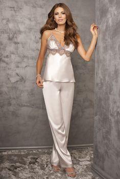 Satin is Sexy Jolie Lingerie, Satin Lingerie, White Lingerie, Pretty Lingerie, Luxury Lingerie, Beautiful Lingerie, Sexy Lingerie, Satin Sleepwear, Satin Pajamas