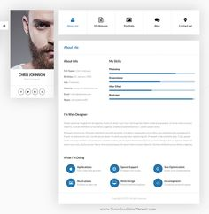 Ficard is wonderful Personal #vCard WordPress #Theme. It has  unlimited colors and wide range of features from your biography, portfolio, #resume, blog and the most convenient way to communicate with you.