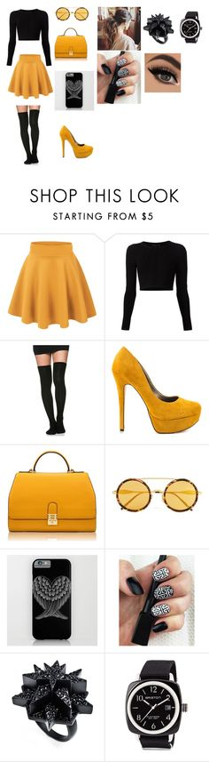 """outfit 7"" by camelia-kaylahana on Polyvore featuring Cushnie Et Ochs, Michael Antonio, Florian London, Wildfox, Eddie Borgo and Briston"