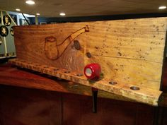 Handmade Tobacco Pipe Rack by WoodnRoll on Etsy