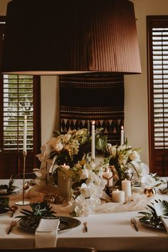 Table decor with candles and flowers Beautiful Sunset, Cape Town, Amelia, Perfect Wedding, Table Settings, Wedding Day, Marriage, Couple, Candles
