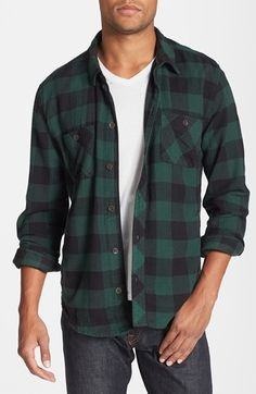 A rustic, Buffalo-check cotton flannel shirt emerges from the woods for a classic look designed for the modern man. Color(s): buffalo plaid, pine buffalo plaid. Brand: ALTERNATIVE. Style Name: Alternative 'Timbers Up' Check Flannel Shirt. Style Number: 969773. $88.00 by nordstrom
