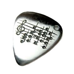 Your Song Guitar Pick Necklace - Custom Song Engraving - Sheet Music - Musician Man Teen Gift - Anniversary Music Birthday Present - Rickson Music Guitar, Cool Guitar, Ukulele, Note Music, Guitar Pick Necklace, Estilo Rock, All About Music, Music Jewelry, Gifts For Brother