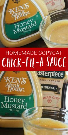 Copycat Chick Fil A Sauce Recipe! My son LOVES Chick Fil A Sauce, so we make this Copycat Chick Fil A Sauce Recipe a lot. It is amazing how much more chicken he will eat when he has this sauce for dipping! Chic Fil A Sauce Recipe, Copycat Chick Fil A Sauce Recipe, Chick Fil A Recipe, Copycat Recipes, Sauce Recipes, Crockpot Recipes, Chicken Recipes, Cooking Recipes, Recipe Chicken