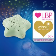 Star Projector wins GOLD at Loved By Parents awards! #lbpawards2014