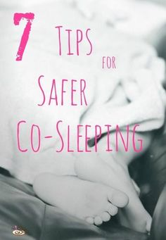 Co-Sleeping moms, beware. Do you know all of these tips? http://thestir.cafemom.com/baby/160067/7_tips_for_safer_cosleeping?utm_medium=sm_source=pinterest_content=thestir