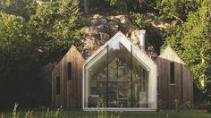 Des maisons et cabanes en bois architecturales