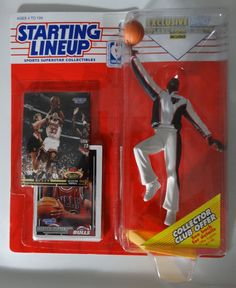 Scottie Pippen Kenner Starting Lineup Figure 1993 NBA Chicago Bulls With 2 Cards for sale online Nba Action Figures, Sports Baseball, Baseball Cards, Theme Sport, Scottie Pippen, Nba Chicago Bulls, Basketball Leagues, Animal Species, Figure Model