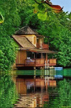 casa agua gif