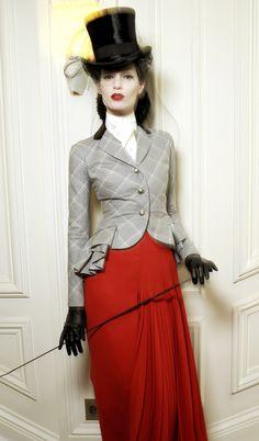 equestrian style / Dior