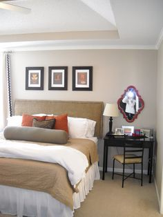 Master Bedroom Makeover - Suburban Spunk! | DIY Show Off ™ - DIY Decorating and Home Improvement Blog