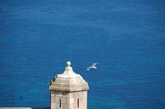 Alicante, widok z zamku Santa Barbara