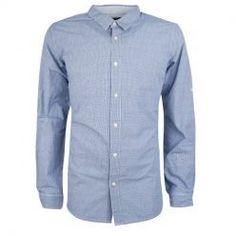 Modrá košeľa MCS 9659 strip