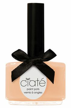 Ciaté Paint Pots in Sugared Almonds Ciate Nail Polish, Peach Nail Polish, Peach Nails, Pastel Nails, I Believe In Pink, Nail Candy, Contouring And Highlighting, Painted Pots, Pretty Pastel